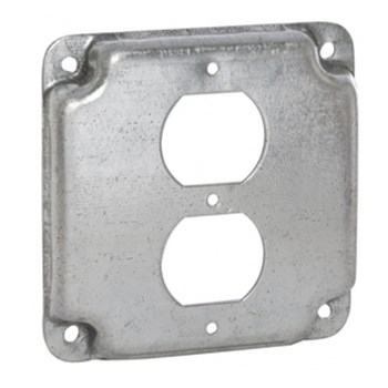 "Industrial 4"" Square Covers"
